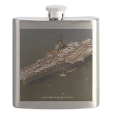independence cva framed panel print Flask