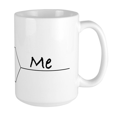 """You vs. Me"" March Madness-style Large Mug"