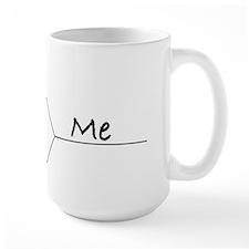 """You vs. Me"" March Madness-style Mug"