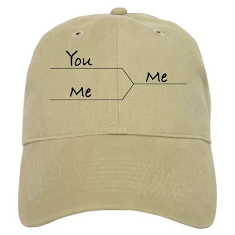 """""""You vs. Me"""" March Madness-style Cap"""