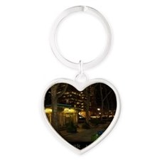 nyny1 Heart Keychain