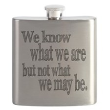 know what we are Flask
