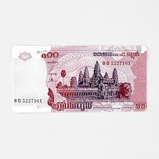 Cambodia Aluminum License Plate