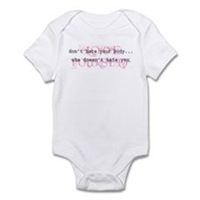 Don't Hate Your Body/Love You Infant Bodysuit