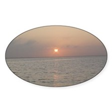 Sunset Over Bay Decal