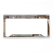 Guatemala License Plate Holder