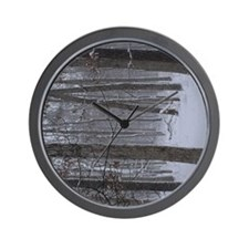 Trees in Snow Wall Clock