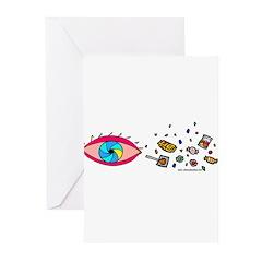 Eye Candy II Greeting Cards (Pk of 10)