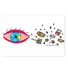 Eye Candy II Postcards (Package of 8)