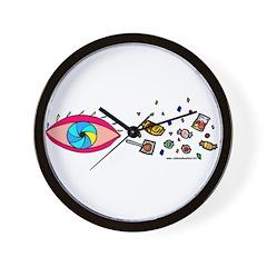Eye Candy II Wall Clock