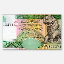 Sri-Lanka Sticker (Rectangle)