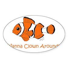clownfish Decal