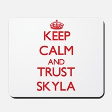Keep Calm and TRUST Skyla Mousepad