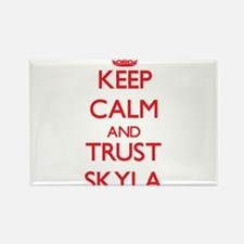 Keep Calm and TRUST Skyla Magnets