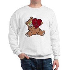 BEAR DADDY BROWN RED Sweatshirt