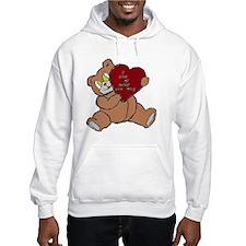 BEAR DADDY BROWN RED Hoodie