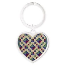 jewel_box_sq Heart Keychain