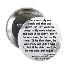 "Heller Catch-22 Quote 2.25"" Button"