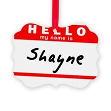 Shayne Ornament