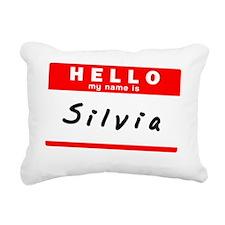 Silvia Rectangular Canvas Pillow