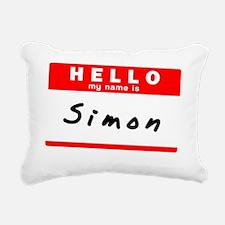 Simon Rectangular Canvas Pillow