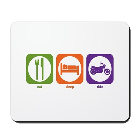 Eat Sleep Ride Mousepad