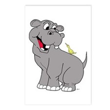 Best Friend Hippo Postcards (Package of 8)