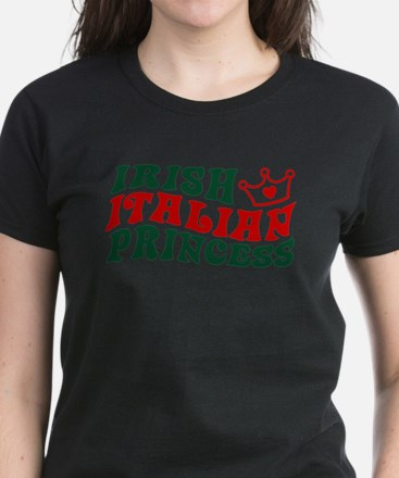 Irish Italian Princess Women's Dark T-Shirt