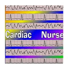 ff cardiac nurse 1 Tile Coaster