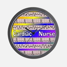 ff cardiac nurse 1 Wall Clock