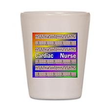 ff cardiac nurse 1 Shot Glass