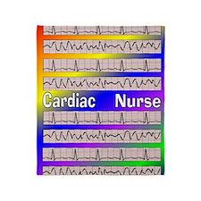ff cardiac nurse 1 Throw Blanket