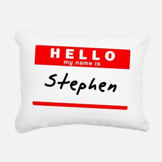 Stephen Rectangular Canvas Pillow