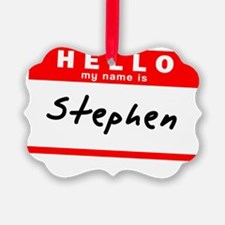 Stephen Ornament
