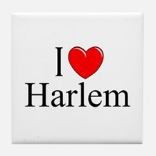 """I Love Harlem"" Tile Coaster"