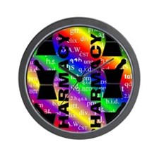 FF PHARMACY 5 Wall Clock