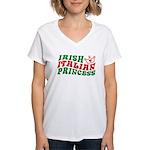 Irish Italian Princess Women's V-Neck T-Shirt