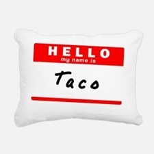 Taco Rectangular Canvas Pillow