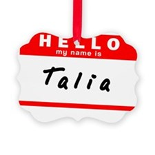 Talia Ornament