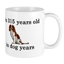 45 birthday dog years springer spaniel 2 Mugs