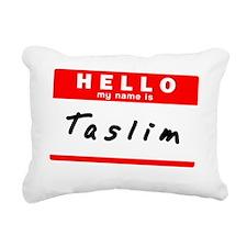 Taslim Rectangular Canvas Pillow