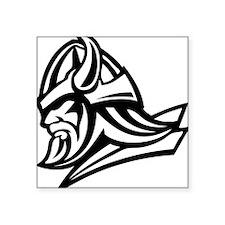 "Primal Viking 2 Square Sticker 3"" x 3"""