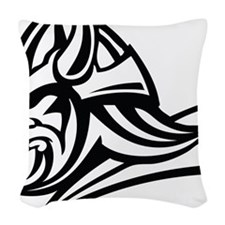 Primal Viking 2 Woven Throw Pillow
