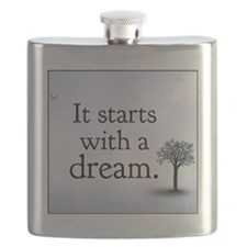 it starts with a dream Flask