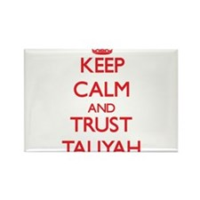 Keep Calm and TRUST Taliyah Magnets