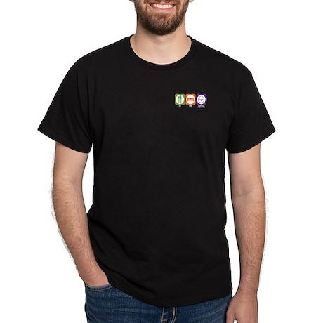 Eat Sleep Biomedical Engineering Dark T-Shirt