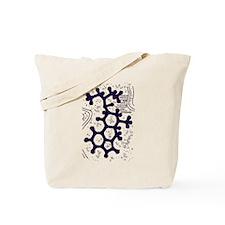 LSD Molecule Tote Bag