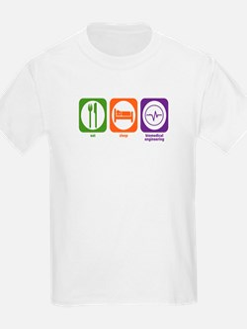 Eat Sleep Biomedical Engineering Kids T-Shirt