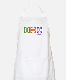 Eat Sleep Biomedical Engineering BBQ Apron