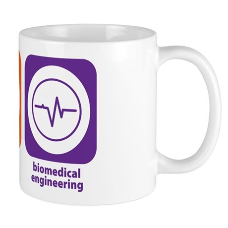Eat Sleep Biomedical Engineering Mug